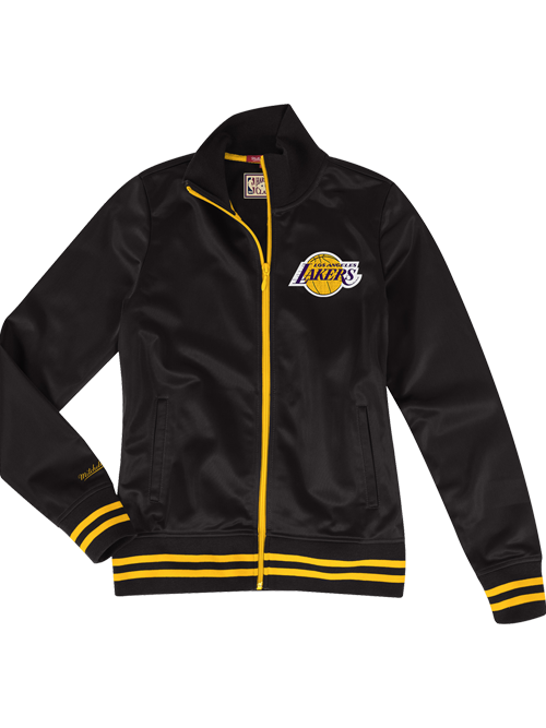 2d0969cdc Los Angeles Lakers Women s Logo Full Zip Track Jacket