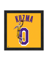 Los Angeles Lakers Wordmark Sweatshirt Blanket - Black