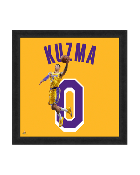 Los Angeles Lakers Kyle Kuzma Number 0 Frame