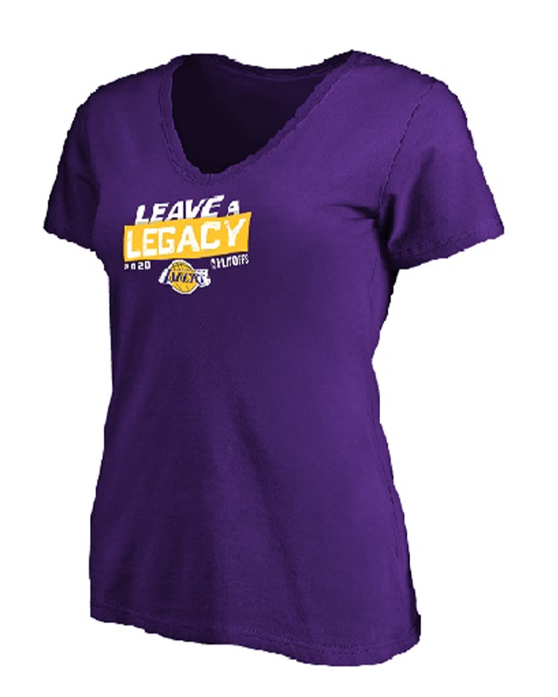 Leave A Legacy Womens Los Angeles Lakers Tee