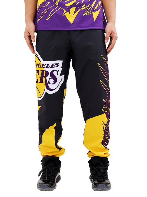 Los Angeles Lakers Black Pyramid Logo Pant