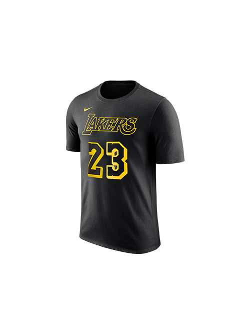 6b9206e5e Los Angeles Lakers Youth LeBron James City Edition Player T-Shirt – Lakers  Store