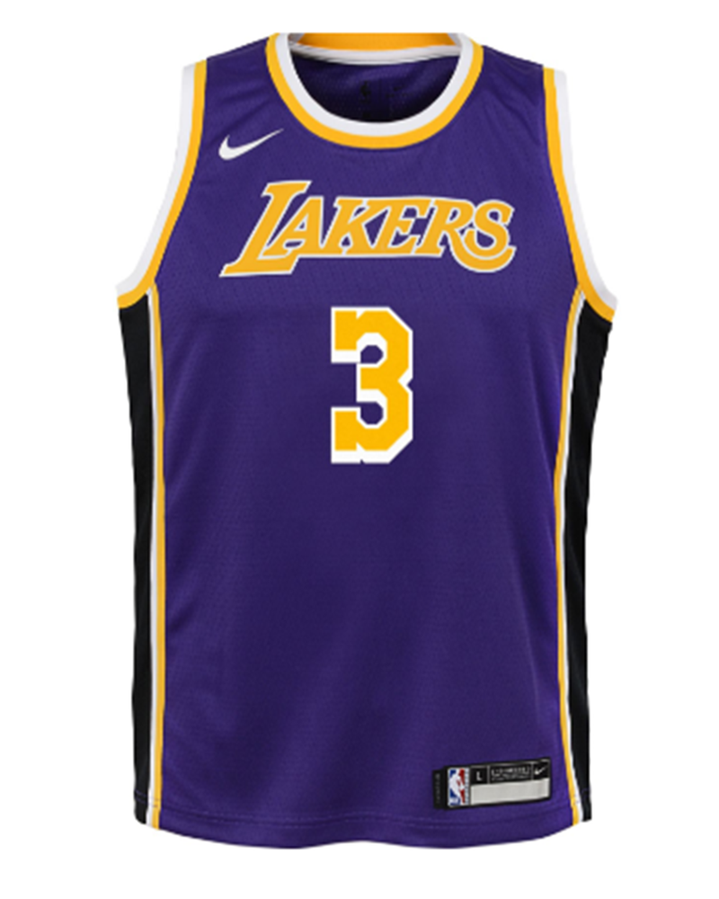 Los Angeles Lakers Kids Anthony Davis Statement Replica Jersey