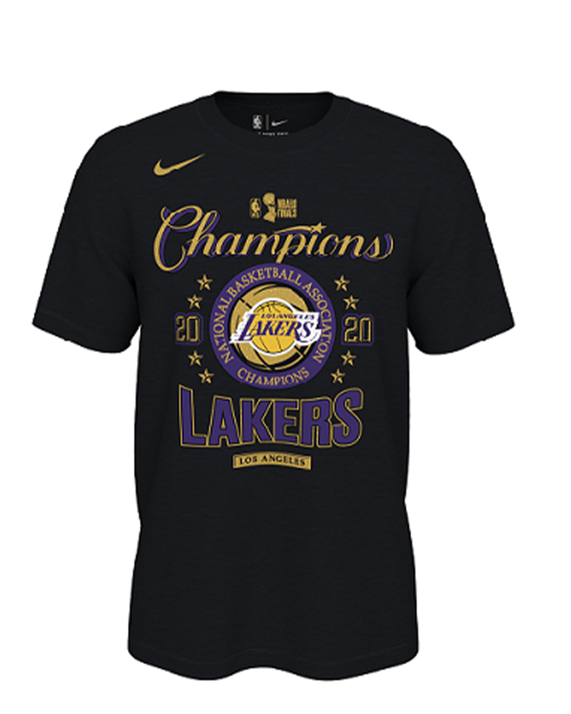 2020 NBA Champions Locker Room Youth Los Angeles Lakers Tee