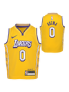 Los Angeles Lakers Kids City Edition Kyle Kuzma Jersey - Gold