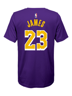 Los Angeles Lakers Youth LeBron James Statemnet Edition Player T-Shirt
