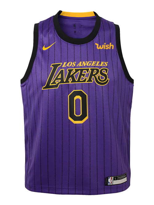 c3c548e2967 Los Angeles Lakers City Edition Youth Kyle Kuzma Swingman Jersey