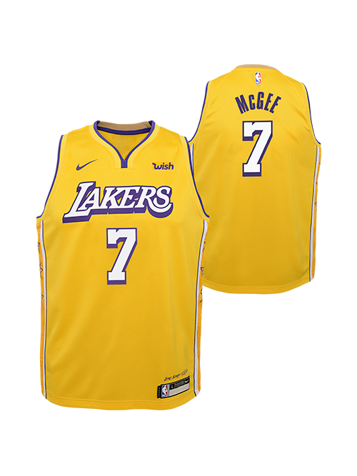 Los Angeles Lakers Youth Javale Mcgee City Edition Swingman Jersey G Lakers Store