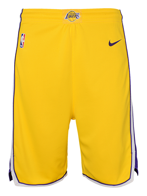 Los Angeles Lakers Youth Icon Swingman Shorts