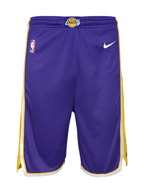 Los Angeles Lakers Youth Statement Swingman Shorts