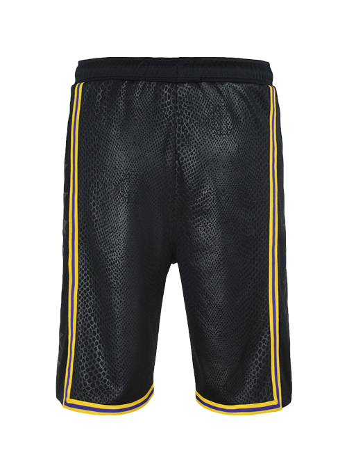 Los Angeles Lakers Youth City Edition Swingman Shorts