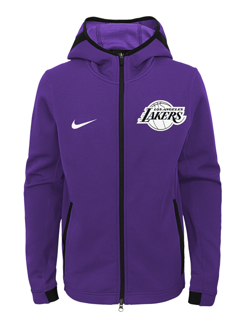 Los Angeles Lakers Youth Dry Showtime Hoodie