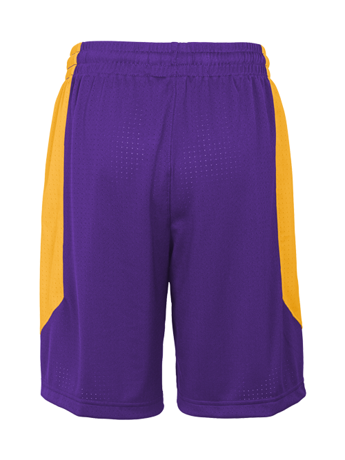 Los Angeles Lakers Youth Practice Shorts - Purple