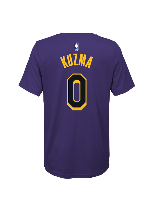 Los Angeles Lakers City Edition Youth Kyle Kuzma Player T-Shirt