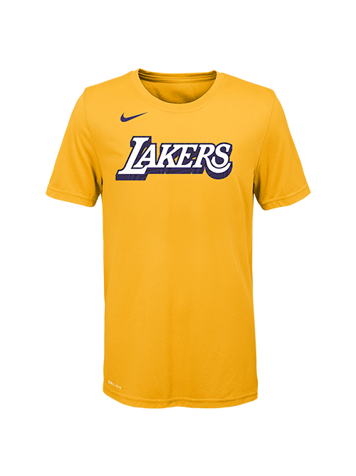 Los Angeles Lakers Youth City Edition Tee - Gold