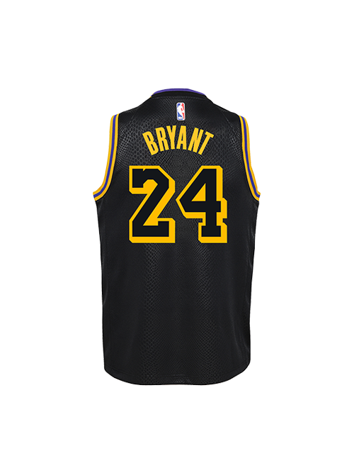 KOBE BRYANT YOUTH CITY EDITION SWINGMAN JERSEY