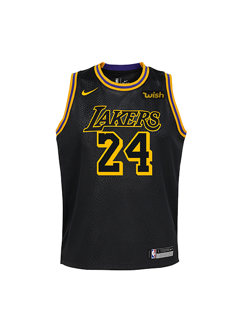 2657314f6ae KOBE BRYANT YOUTH CITY EDITION SWINGMAN JERSEY – Lakers Store