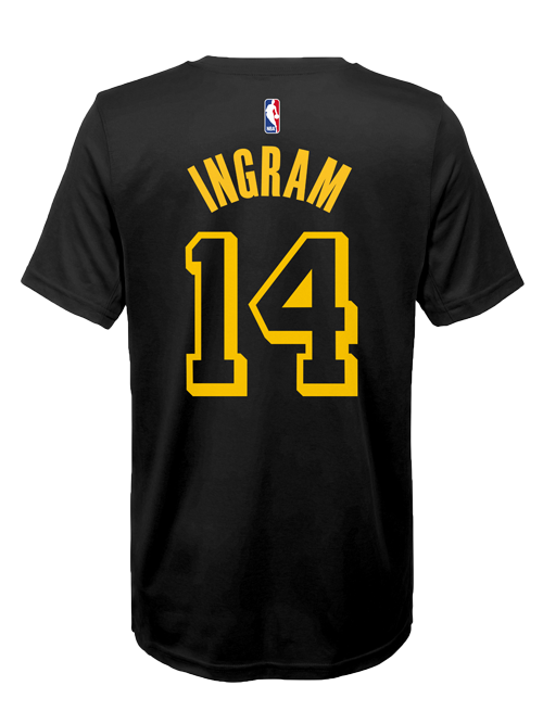 Los Angeles Lakers Youth City Edition Brandron Ingram T-shirt