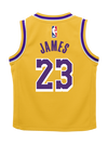 Los Angeles Lakers City Edition LeBron James Swingman Jersey