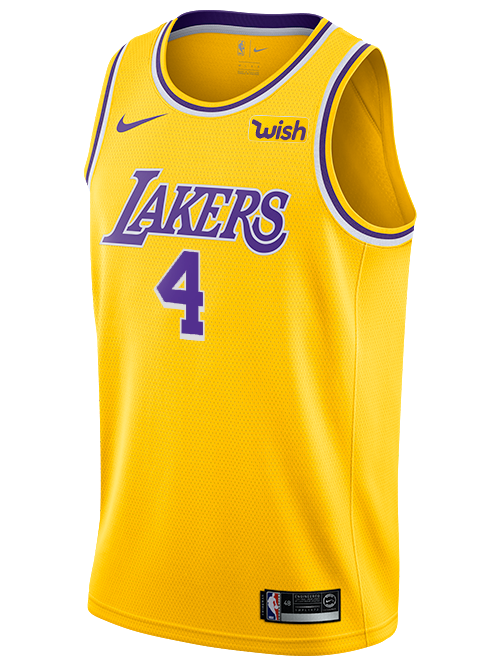 Los Angeles Lakers Alex Caruso 2019-20 Icon Swingman Jersey