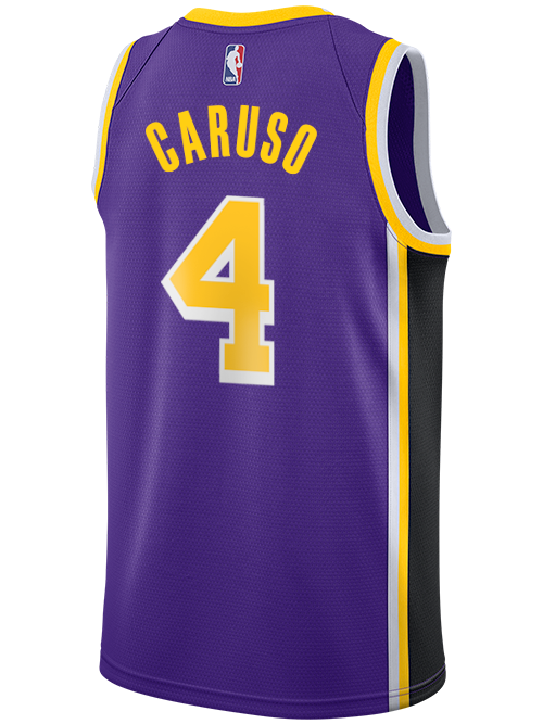 Alex Caruso Los Angeles Lakers Statement Swingman Jersey