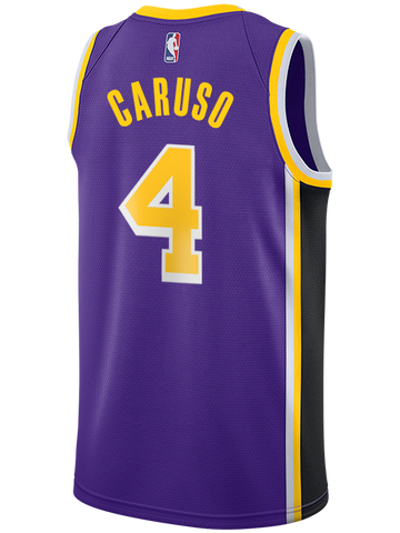Los Angeles Lakers Anthony Davis City Edition Swingman Jersey - Gold