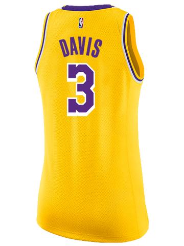 Los Angeles Lakers Anthony Davis Association Swingman Jersey