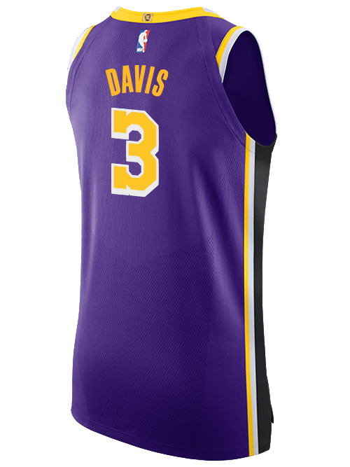 Los Angeles Lakers Anthony Davis Statement Authentic Jersey ...