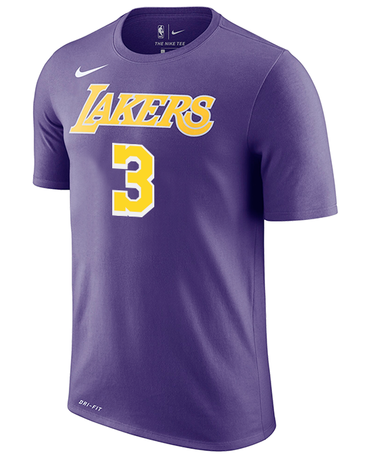 Los Angeles Lakers Youth Anthony Davis Statement T-Shirt