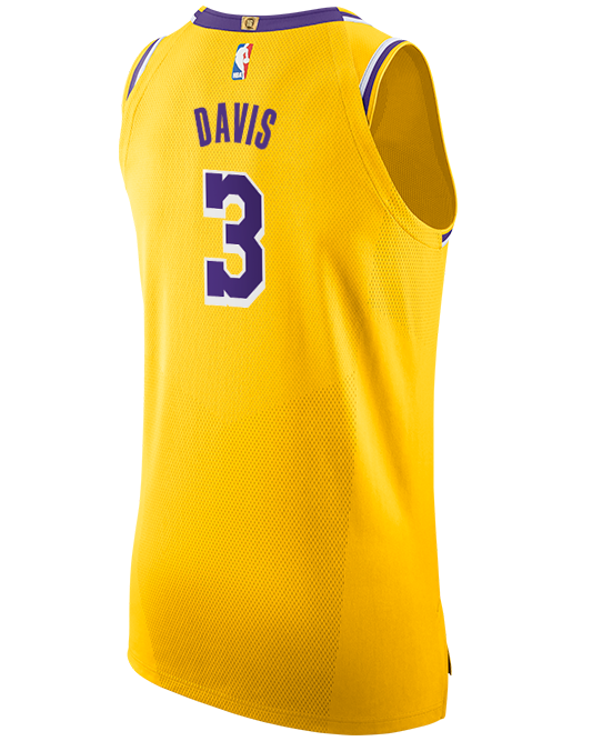 Los Angeles Lakers Anthony Davis Icon Authentic Jersey