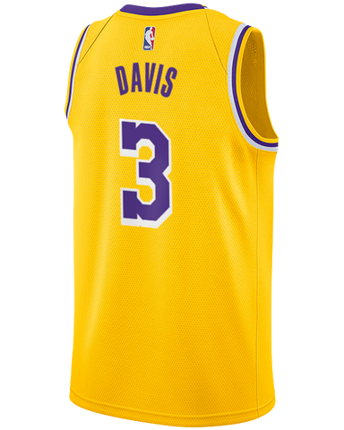Los Angeles Lakers Troy Daniels 2019-20 Icon Swingman Jersey