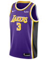 Los Angeles Lakers Anthony Davis Statement Swingman Jersey