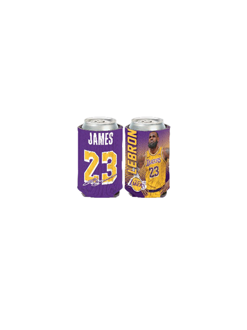 Los Angeles Lakers LeBron James Jersey Can Cooler