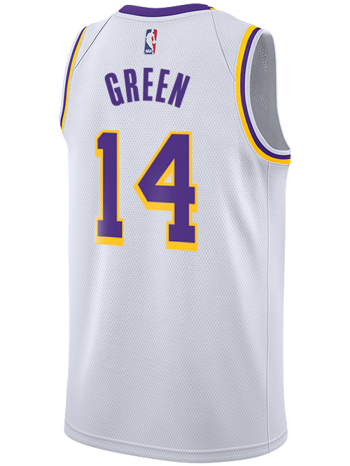 Los Angeles Lakers Danny Green Association Swingman Jersey
