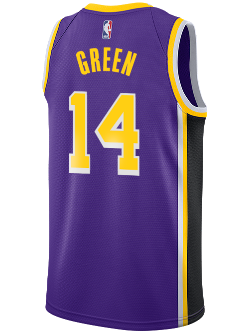 Los Angeles Lakers Danny Green Statement Swingman Jersey