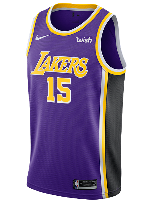 Los Angeles Lakers DeMarcus Cousins Statement Swingman Jersey