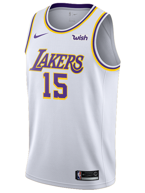 Los Angeles Lakers DeMarcus Cousins Association Swingman Jersey