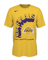 City Edition Brushed Los Angeles Lakers Tee