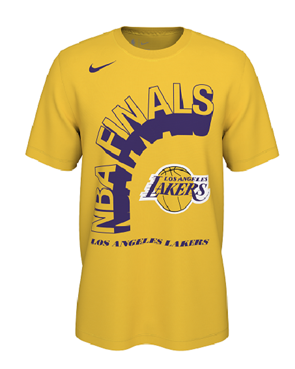 NBA Finals Adult Los Angeles Lakers Tee