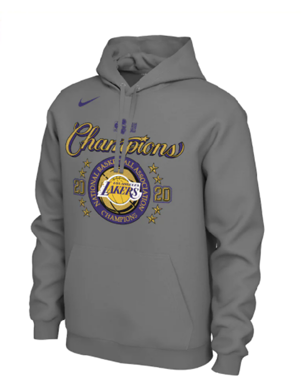 Los Angeles Lakers 2020 NBA Champions Locker Room Hoodie