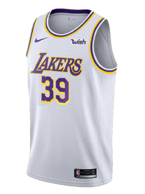 Los Angeles Lakers Dwight Howard 2019-20 Association Edition Swingman Jersey