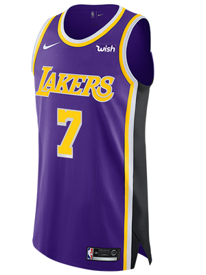 Los Angeles Lakers JaVale McGee 2019-20 Statement Authentic Jersey