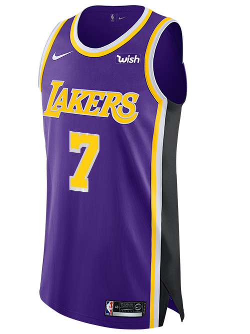 Los Angeles Lakers Javale Mcgee 2019 20 Statement Authentic Jersey Lakers Store