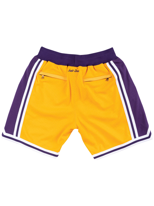 Los Angeles Lakers Just Don 1996 Home Shorts