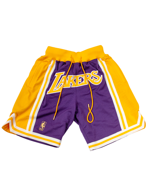 Los Angeles Lakers Just Don Shorts