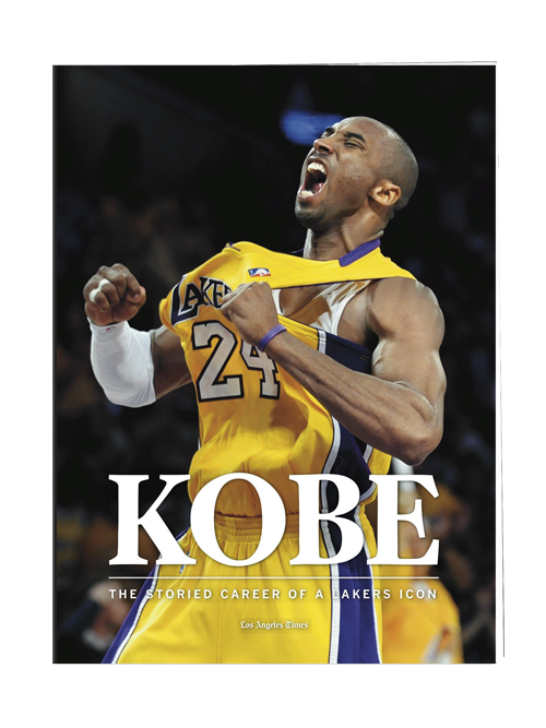 Los Angeles Lakers Kobe Bryant Limited Edition Tribute Book