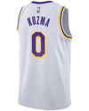 Los Angeles Lakers Kyle Kuzma City Edition Authentic Jersey