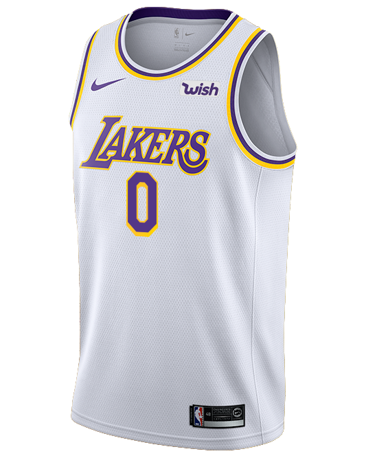 Los Angeles Lakers Kyle Kuzma Association Edition Swingman Jersey