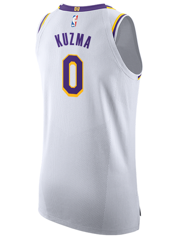 Los Angeles Lakers Anthony Davis Statement Authentic Jersey