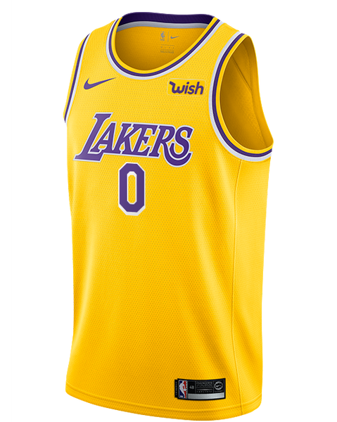 quality design ae7b7 a03a8 Los Angeles Lakers Kyle Kuzma 2019-20 Icon Edition Swingman Jersey